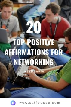 Enjoy this list of the top business networking affirmations to help you improve your people skills and make more connections.    #businessaffirmations #networking #entrepreneurship #selfpause #positivity #affirmations