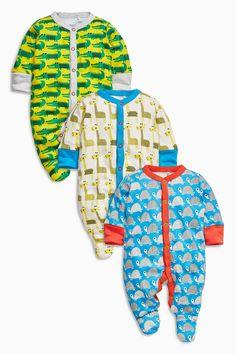 Kaufen Sie Pyjama-Sets mit Tiermuster, Dreierpack (0 Monate bis 2 Jahre) heute online bei Next: Deutschland
