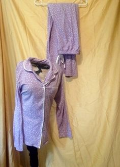 Buy my item on #vinted http://www.vinted.com/womens-clothing/sleepwear/20972798-aria-lilac-polka-dot-pj-set