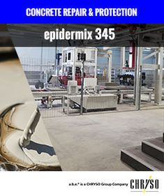 epidermix 345 is a slow-set epoxy bonding agent used at the CEM Brick Manufacturing Plant, a new plant floor in Bloemfontein. epidermix 345 facilitates the bonding of new concrete to existing concrete, preventing cold joints. General Construction, Epoxy, Bond, Concrete, Brick, Plant, Floor, Pavement, Bricks