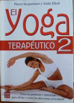 Yoga terapéutico libro de segunda mano