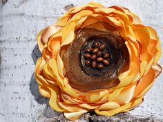 PDF Pattern Fabric Flower  Camellia and by JustAnotherHangUp, $5.00