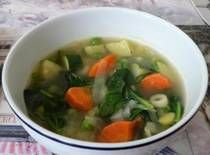 Low Fat Spring Vegetable Soup mmmm