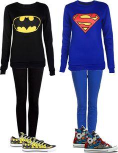 """batman vs superman"" by chocklez ❤ liked on Polyvore"