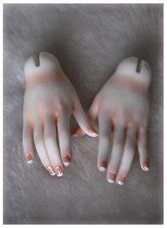 / body blushing manicure / by clockwork angel /