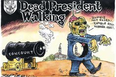Zapiro: Zombified: A dead president walking - Mail & Guardian
