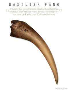 Basilisk Fang can destroy a horcrux. Harry Potter Facts, Harry Potter Diy, Harry Potter Universal, Harry Potter Characters, Harry Potter World, Daniel Radcliffe, Harry Potter Cosplay, Harry Potter Christmas, Mischief Managed