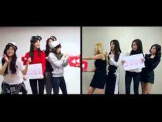 Jessica Tiffatny Taeyeon Yuri Sunny SNSD Split Personality 2013 vs 2014