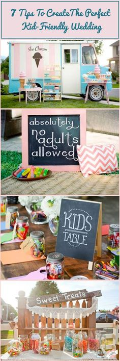 Keep your youngest wedding guests entertained with our 7 Tips for the Perfect Kid Friendly Wedding!