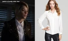 Hanna's Studded Collar Blouse from Amanda Uprichard