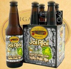 Cerveja Cigar City Jai Alai White Oak, estilo India Pale Ale (IPA), produzida por Cigar City, Estados Unidos. 7.5% ABV de álcool.