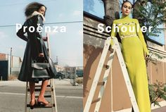 Proenza Schouler FW 16.17 Campaign by Zoe Ghertner | The Fashionography