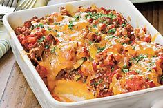 Save space in your oven: let your slow cooker create some of our favorite dishes…