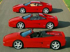 F355. Most gorgeous Ferrari line ever built.