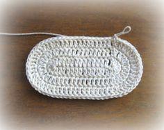 oval crochet pattern