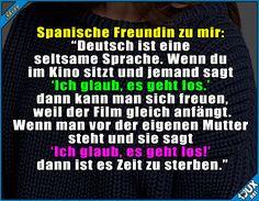 Keine einfache Sprache #Deutsch #typischdeutsch #Deutschland #Sprache #Humor