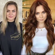 Best Hairstyles Trends To Try In 2020 Red Brown Hair Color, Hair Color Auburn, Brown Blonde Hair, Hair Color And Cut, Brunette Hair, Hair Colors For Blue Eyes, Brown Auburn Hair, Copper Brown Hair, Red Hair Blue Eyes