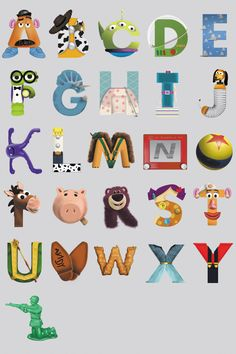 Disney Toy Story Alphabet Chart Wall Mural by HughesPrint on Etsy https://www.etsy.com/uk/listing/268524166/disney-toy-story-alphabet-chart-wall