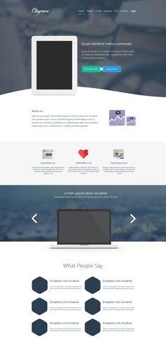 Free Flat Design Resources (Templates, Icons and UI Kits) - 0 #flatdesign #uikits #freeicons #psdtemplates