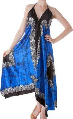 AA108 - Veins Print Satin V-Neck Halter Handkerchief Hem Maxi / Long Dress ( Various Colors ) - Royal Blue/One Size Sakkas,http://www.amazon.com/dp/B0087Q6QLG/ref=cm_sw_r_pi_dp_Bf1WrbDE6BEA4781
