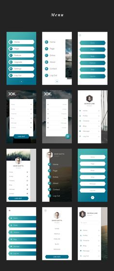 Buy Jok Mobile UI Kit by Tiepnk on GraphicRiver. JOK mobile UI KIT is a stylish, clean and huge UI Kit made to help with your designing or prototyping process. Android App Design, Ios App Design, Iphone App Design, Iphone App Layout, Login Design, Mobile Application Design, Mobile Ui Design, App Design Inspiration, Conception D'applications
