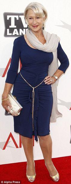 Helen Mirren on the red carpet...