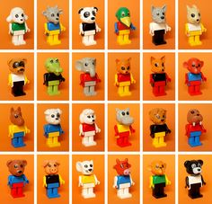 My rules for Fabuland minifigs collection, naked head and torso without any print. My Childhood Memories, Childhood Toys, Lego Duplo, Lego Van, Toy Catalogs, Vintage Lego, 80s Kids, Handmade Greetings, Retro Toys