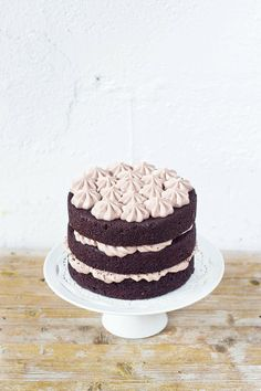 chocolate, cinnamon and pumpkin cake