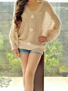 Love this sweater!!... perfect with some straight leg jeans and some boots :)