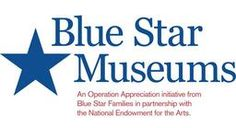 BLUE STAR MUSEUMS is a program that offers free admission to museums for all active duty, National Guard and Reserve military personnel and their families from Memorial Day through Labor Day.