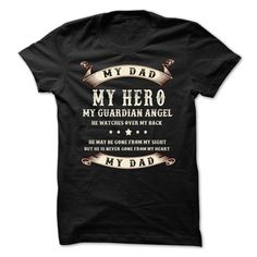 My dad,my hero ! tee & hoodie If you dont like this T-shirt, please use the Search Bar on the top right corner to find the best one for you. Simply type the keyword and hit Enter!