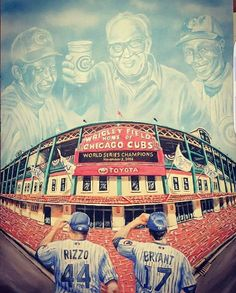 I will someday watch a Cubs baseball game in their home field Wrigley Field in Chicago! Chicago Cubs History, Chicago Cubs Fans, Chicago Cubs World Series, Chicago Cubs Baseball, Chicago Illinois, Chicago Blackhawks, Chicago Cubs Pictures, Cubs Tattoo, Best Kids Watches