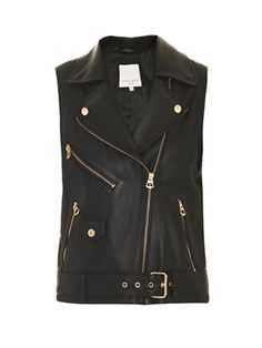 Perfect leather Vest