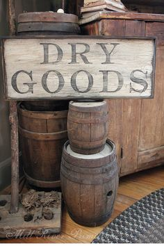 Kitchen Wood Signs Cabinet Colors Ideas For 2019 Primitive Kitchen, Country Primitive, Rustic Kitchen, Country Kitchen, Primitive Decor, Kitchen Ideas, Kitchen Tips, Primitive Signs, Prim Decor