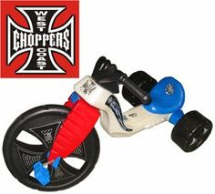 "The Original Big Wheel ""WEST COAST CHOPPER"" Trike Limited Edition Ride-on"