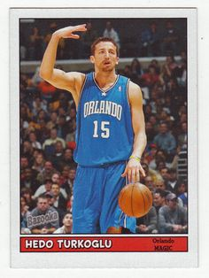 Hedo Turkoglu # 146 - 2005-06 Topps Baz Basketball Mini's