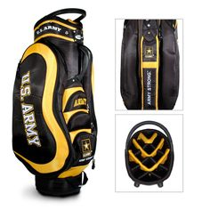 Bring some team spirit to the golf course with this NFL Medalist Golf Cart Bag. This golf bag features your favorite football team's colors and logos. Made out of durable 210 PU-backed and UV-treated rip-stop nylon, this golf bag is perfect for any fan. Packers Gear, Nfl Packers, Nfl Green Bay, Green Bay Packers, Golf Green, Pittsburgh Penguins, Pittsburgh Steelers, Steelers Gear, Golf Stand Bags