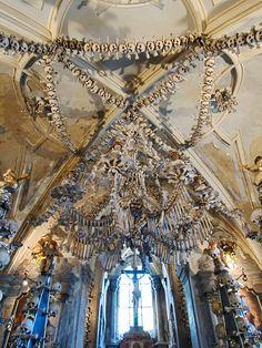 Sedlec Ossuary in Kutná Hora, Czech Republic