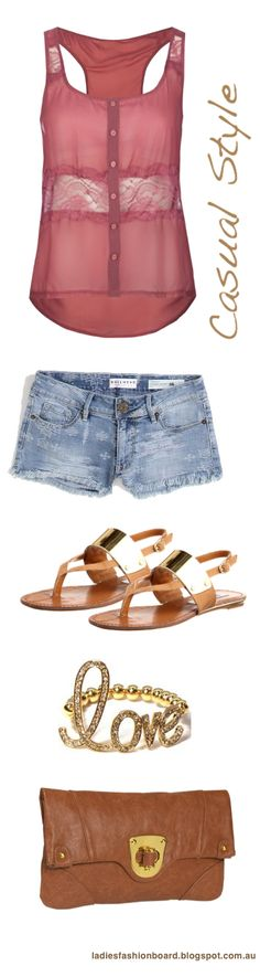 Casual and practical for hot days