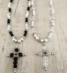 Collar Croix ( Cristal checo)