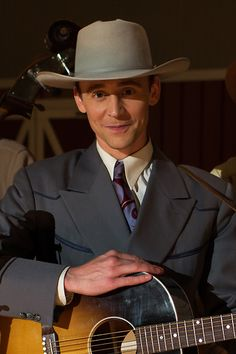 In Style: Tom Hiddleston Shines as Hank Williams in I Saw The Light. Link: http://www.instyle.com/news/tom-hiddleston-shines-hank-williams-i-saw-light