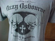 OzZy Osbourne ~Affliction Men's Large Shirt at Montrose
