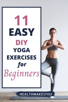 DIY yoga exercises for beginners. If you are starting yoga exercises, this post is for you. You will find directions and video guides to do yoga poses at home or anyhwere you are. #yogaforbeginners #diyyoga #athomeyoga Yoga Fitness, Fitness Tips, Beginner Yoga Workout, How To Start Yoga, Yoga Exercises, Fit Board Workouts, Yoga For Weight Loss, Yoga Tips, Yoga For Beginners