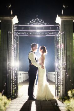Fairytale Wedding Picture at the Whitehall Gardens in Louisville Kentucky | David Blair Photography
