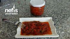 Köz Patlıcan Ve Biberli Sos - Nefis Yemek Tarifleri Meatloaf, Pasta, Food, Meat Loaf, Noodles, Meals, Pasta Recipes