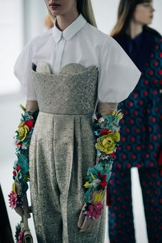 nice Le 21ème | Backstage at Delpozo, Fall/Winter 2016/2017 | New York City