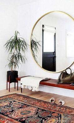 18 DIY Indoor Bohemian Decorating Ideas https://www.onechitecture.com/2017/10/27/18-diy-indoor-bohemian-decorating-ideas/
