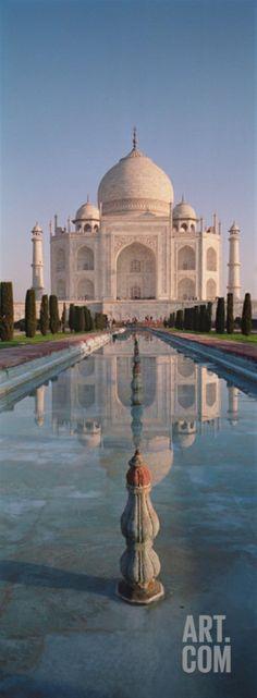 Facade of a Building, Taj Mahal, Agra, Uttar Pradesh, India Photographic Print by Panoramic Images at Art.com