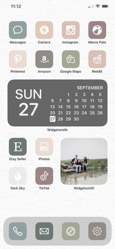 Home Screen Done Right — David and Leanna