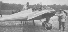 A speedy French monoplane (CPE). WW I
